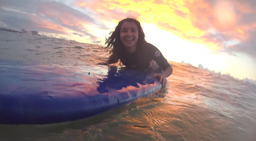 MWSS Backpacker Surf Sunset